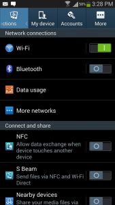 Smartphone as WiFi Hotspot