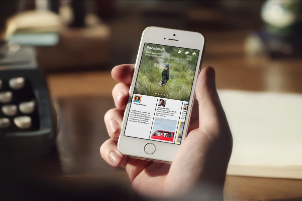 Download Facebook Paper App Outside of the US - Future of Facebook