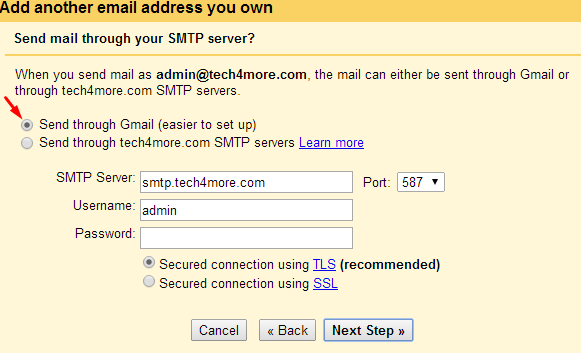 How to add another mail account to your gmail account?-2