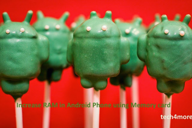 How To Increase RAM in Android Phone/Device Using Memory/SD Card