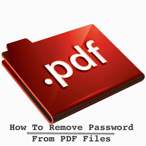 How To Remove Password From PDF Files in Windows