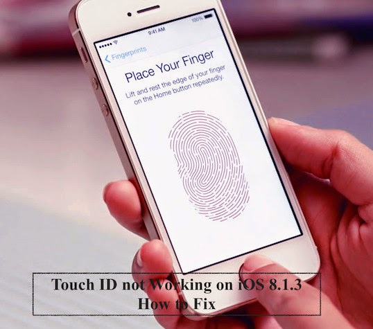 Touch ID not Working on iOS 8.1.3 - How to Fix