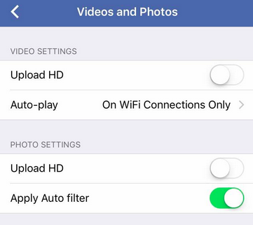 How to Stop Facebook Video Autoplay on ipads