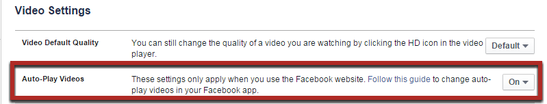 How to Stop Facebook Video Autoplay on PC